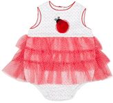 Mini Muffin Baby Girl Tiered Tulle Bodysuit