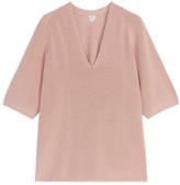 Arket Short-Sleeved Knitted Jumper