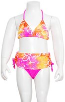 Gossip Girl Little Girls Size Hi-tech Color Daisy Splash Swimsuit