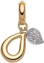 Viventy Women's Charm Gold-Plated Rhodium-Plated White Zirconia - 767182
