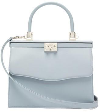 Rodo Paris Medium Leather Bag - Light Blue