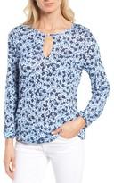 MICHAEL Michael Kors Petite Women's Lydia Floral Peasant Top