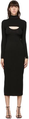 DRAE SSENSE Exclusive Black Removable Sleeve Dress