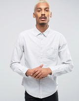 Esprit Shirt with Pocket and All Over Print