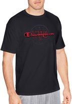 Champion Mens Graphic Short Sleeve Jersey Tee, M