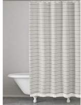 Kassatex Halsey Cotton Stripe Shower Curtain