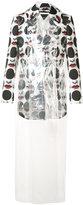 Comme des Garcons face print jacket - men - Polyester/Polyurethane - L