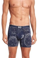 Saxx Men's Vibe Print Boxer Briefs