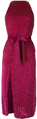 retrofete Side-Slit Midi Dress