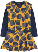 Catimini 2 in 1 crepe dress