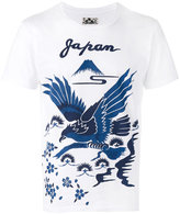 Blue Blue Japan bird print T-shirt - men - Cotton - S