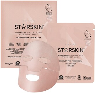 Starskin Silkmud Pink French Clay Purifying Liftaway Mud Face Mask