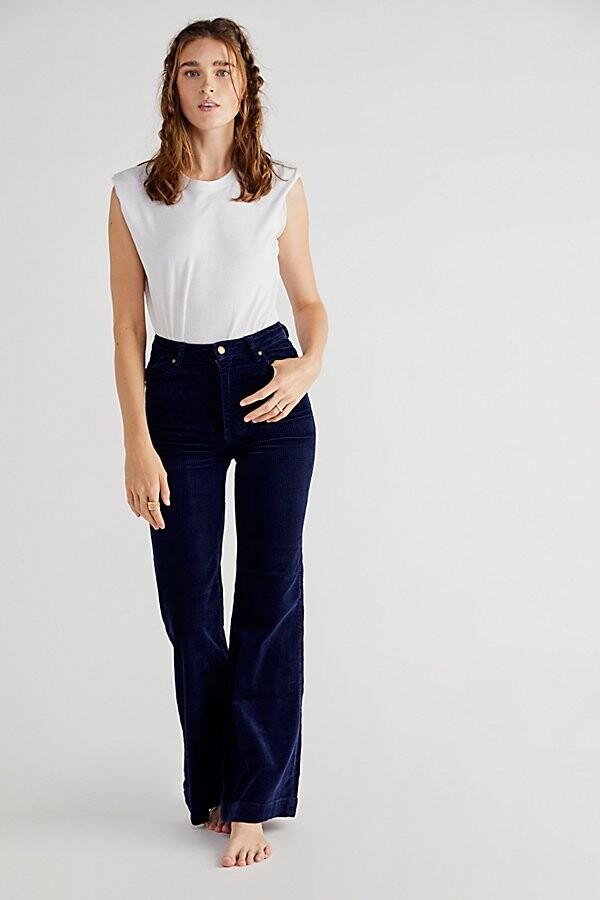 Thumbnail for your product : ROLLA'S East Coast Cord Flare Jeans
