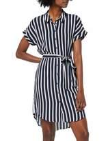 Vero Moda Women's Vmsasha Shirt Ss Dress Noos