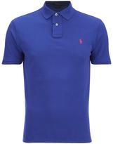 Polo Ralph Lauren Custom Fit Polo Shirt Bright Royal