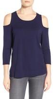 NYDJ Women's Cold Shoulder Pullover