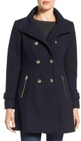 Jessica Simpson Women's Fit & Flare Officers Coat