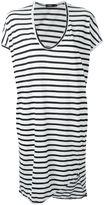 Bassike striped T-shirt dress