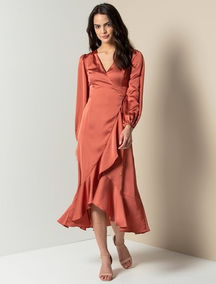 Ever New Dimitria Wrap Maxi Gown
