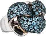 Chimento Blue Topaz Infinity Ring