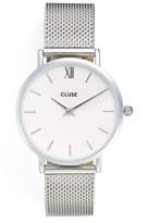 Cluse Women's Minuit Mesh Strap Watch, 33Mm