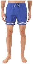 Scotch & Soda Medium Length Swim Shorts in Solid and Color Block Feeling
