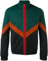No.21 zipped sweatshirt - men - Cotton/Polyester/Spandex/Elastane - S
