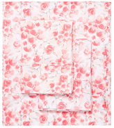 Melange Home Watercolor Poppy Cotton Sheet Set