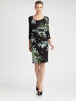 Dolce & Gabbana Lily Print Dress