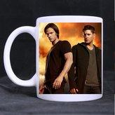2buymore Mug Supernatural White Mug 100% Ceramic Coffee/Tea White Cup