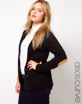 Asos Elbow Patch Cardigan