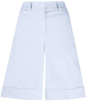 Peserico Turn Up Hem Shorts