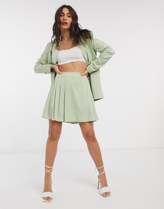 Fashion Union tailored skirt co-ord