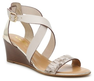 Coach And Four Genoa Wedge Sandal