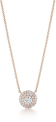 Tiffany & Co. Soleste pendant in 18k rose gold with diamonds