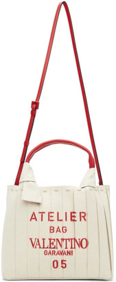 Valentino Off-White Atelier Bag 05 Tote