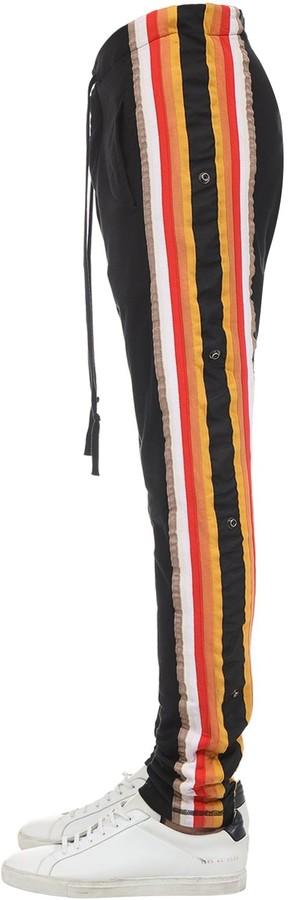 Greg Lauren BORG COTTON PANTS W/ SIDE BANDS