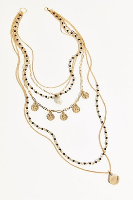 Free People Always Forever Layered Necklace