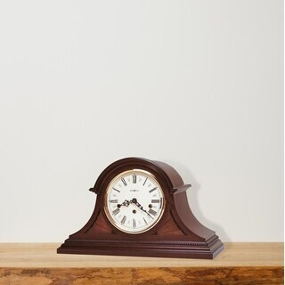 Howard Miller Downing Classic, Traditional, Old World, Chiming Mantel Clock with Silence Option, Reloj del Estante