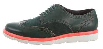United Nude Suede Wingtip Brogues