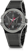 Maserati Potenza Black PVD Stainless Steel Unisex Watch