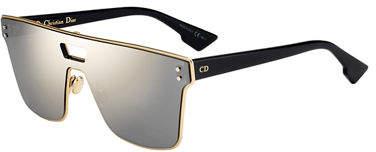 Christian Dior Diorizon Mirrored Shield Sunglasses