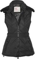 Moncler Ceuze Quilted Down Gilet - Black