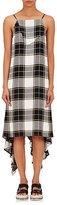 Public School Women's Asymmetric-Hem Plaid Twill Dress