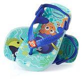 Havaianas Flip Flops Baby Disney Cuties Flip Flops - Ice Blue