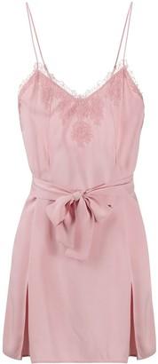 La Perla Lace-Embellished Babydoll