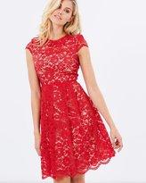 Maya Scallop Lace Dress