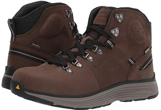 Keen Manchester 6 Soft Toe WP (Cascade Brown/Brindle) Men's Work Boots
