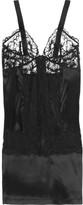 La Perla Silk-blend lace chemise