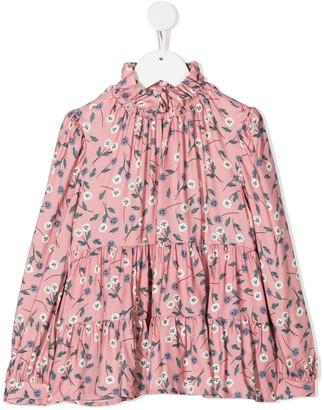 Il Gufo Camicia button blouse